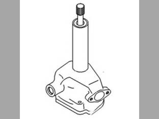Oil Pump - JCB Massey Ferguson 1130 760 1135 750 1100 1105 736012M91 Perkins A6.354 41314067 White 7600 2-85 2-105 JCB 02100230