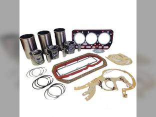 Engine Rebuild Kit - Less Bearings - 3 Cylinder Mahindra C35 475 3325 3505 450 C27 E350 3525 006000067R92