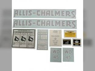 Decal Set Allis Chalmers WD45