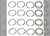 Piston Ring Set Massey Ferguson 135 150 230 235 245 35 50 F40 TO30 TO35 Allis Chalmers 125 B C CA RC Continental Z129 Z134 Z145 Massey Harris 50