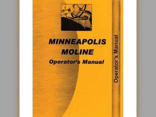 Operator's Manual - MM-O-445 Minneapolis Moline 445 445