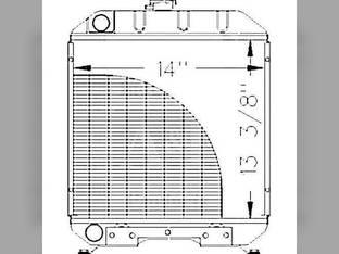 Radiator Ford 1120 1215 1220 SBA310100610