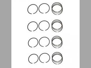"Piston Ring Set - .030"" Oversize - 4 Cylinder Allis Chalmers G Massey Harris Pony Continental N62"