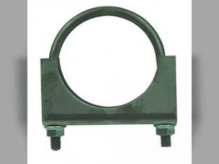 "Muffler Clamp - 1-1/2"" 2 Bolt Heavy Duty Massey Ferguson F40 TO30 TO20 135 TO35 50 Massey Harris 50 79023401 79023401V A26534 C63072 CL112 CL-112 MC112 MC150GV PC112 35325"