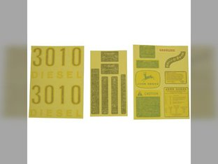 Decal Set - 3010 Diesel John Deere 3010