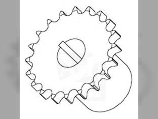 Feeder Reverser Drive Sprocket Case IH 1644 2388 1666 2344 1660 1688 1640 2188 2144 2166 1620 2366 1680 International 1480 1460 1420 1440 1329717C1 1321535C1