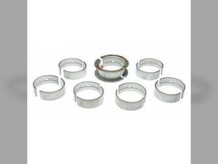 "Main Bearings - .020"" Oversize - Set International 6588 7488 DT466 6788 4366 4186 3488 7288 7388 3588 4386 5288 3788 5488"