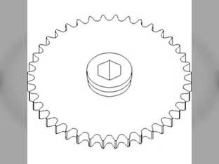Grain Platform Chain Sprocket John Deere 6622 922 913 924 918 920 925 915 930 AH148573