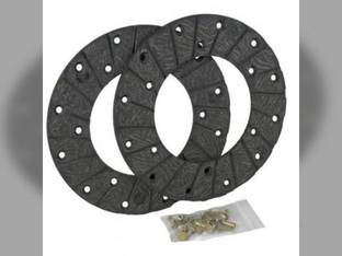 Disc Brake Linings with Rivets CockShutt / CO OP 570 550 50 40 560 TO13267 Case DC DEX DC-4 DI DH DC-3 DCS D DV DO Oliver 4299AA O7206AB