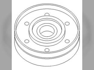 Belt Tensioner Pulley Ford 7740 8240 5640 7840 8340 6640 87801102 New Holland TS115 TS90 TS110 TS100