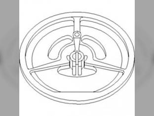 Sheave Assembly - Inner Drive Separator Fan John Deere 9510 9400 9510 SH 9550 9560 SH 9600 9560 9660 CTS 9450 9500 9410 9610 9650 CTS CTSII 9550 SH 9500 SH 9650 CTS 9660 AH149356