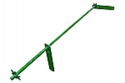 Straw Chopper Adjuster Shaft