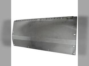 "Floor Sheet - Left 75-5/16"" Stainless Steel John Deere 918F 922F AH151633"