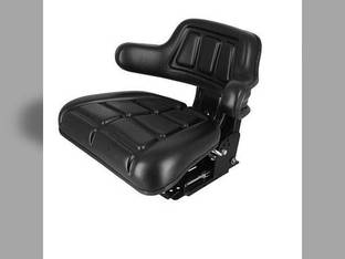 Seat Flip-up Grammer Style Black Vinyl FIAT 80-88 82-93 60-93 60-66 70-66 65-93 55-65 60-94 80-66 70-88 55-66 72-93 88-93 0278205 119896 1672345M91 1826035 193451M1 3901773M91 5161727 5C653 TS1050ATSP