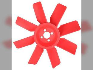 Cooling Fan - 8 Blade John Deere 400 401 480 440 440A 1040 1140 1550 1750 1830 2020 2030 2040 2150 2155 2255 2440 1350 440B AT23180 Massey Ferguson 275 285 160895M1