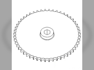 Row Unit Sprocket