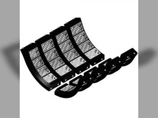 Concave KX7 Set - Standard Tough-Thresh Cereal/Small Seed Kit - Kondex Case IH 7230 8120 8230 7120 AFX7010 9230 9120 AFX8010 84563344