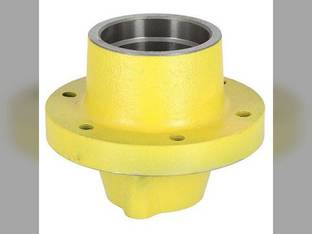 Front Wheel Hub - 6 bolt Press-on Cap Style John Deere 1020 2030 2155 2350 2440 2510 2550 2555 2630 2640 2755 2750 4030 4040 4230 1520 1640 2020 2040 2940 2950 3140 4240 4430 2140 4000 4020 730 9400