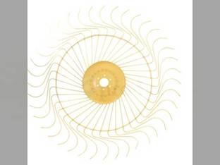 Rake Wheel - LH Complete Tonutti P2 P3 P4 P5 P6 RCS8 RCS10 RCS12 Vicon H820 H1020 H1050 H1240 H1340 HKX620 HKX621 90095862 95862 V90095862Z