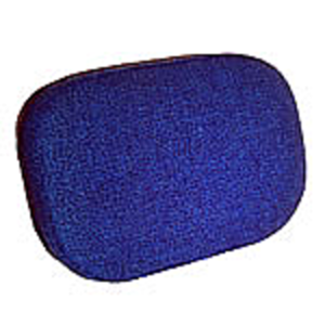 Seat Back - Blue Fabric
