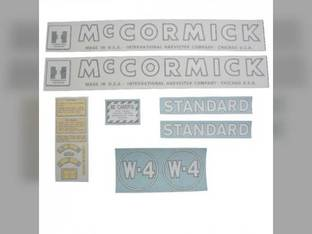 Decal Set International W4