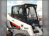 All Weather Enclosure Replacement Door Skid Steer Loaders 540 640 740 Hook & Loop Models Bobcat 740 840 640 540