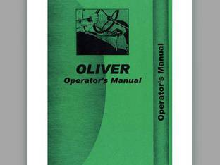 Operator's Manual - 1600 Oliver 1600 1600