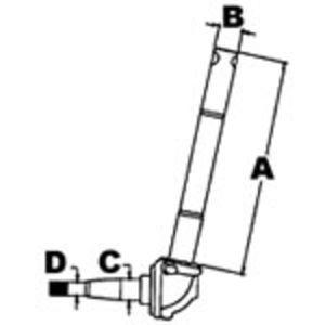 Spindle - Left Hand, Standard
