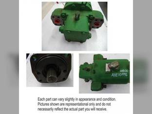 Used Hydrostatic Drive Motor John Deere 9770 STS 9870 STS 9570 STS 9670 STS AXE10496