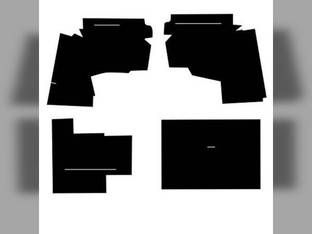 Cab Foam Kit with Headliner Black Oliver 1955 2255 1755 1855