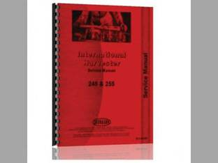 Service Manual - IH-S-245 255 International Harvester Case IH 255 245