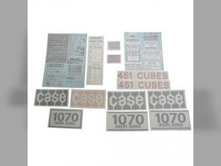 Decal Set Case 1070