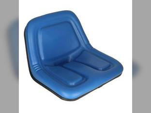 Bucket Seat Deluxe High Back Vinyl Blue Case John Deere 4475 3375 New Holland L425 L120 L778 LS125 L35 L455 L325 L445 L125 L250 L454 Ford 1811 1841 2030 1801 1871 1821 1881 Gehl 3825 Kubota B7300
