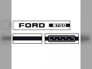Decal Set Ford 6700