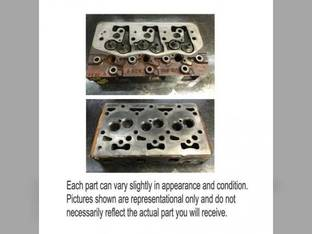Used Cylinder Head International 454 484 385 3400 2400 464 4500