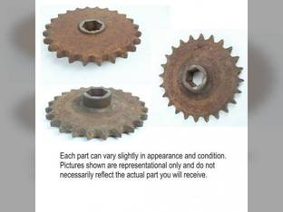 Used Feed Adapter Drive Sprocket International 843 983 984 883 833 844 900 715 881 720 834 781 964 943 863 873 963 854 853 823 954 944 824 800 874 864 830 Case IH 1084 1063 1054 1044 1083 1043 1064