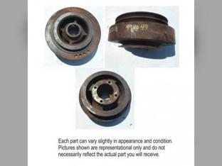 Used Crankshaft Dampener with Pulley John Deere 4050 4960 9970 8450 4760 4450 4560 9950 4250 4650 4255 4455 9960 4755 4555 4055 4850 4955 9965 AR99127