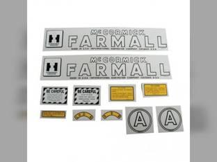 Mylar Decal Set - Farmall & A International A