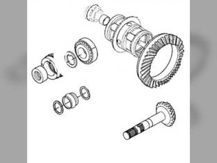 Bevel Gear and Pinion Kit - Carraro John Deere 5225 5105 5425 5615 5420 5525 5220 5205 5715 5303 5320 5520 5325 5403 RE204873