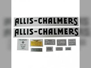 Decal Set Allis Chalmers RC