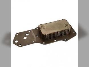 Engine Oil Cooler Case IH 5120 5120 5220 5220 Case 580K 580K 1840 1840 1845C 1845C 430 430 450 450 95XT 95XT 570LXT 570LXT 90XT 90XT 580M 580M 440 440 580 Super M 580 Super M 580L 580L New Holland