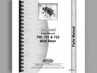 Parts Manual - BC-P-700+ Bobcat 721 700 722