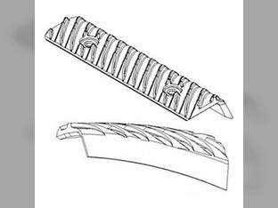 Cylinder Rasp Bar Kit Case IH 1670 1660 1644 2144 1666 2366 2344 1640 2166 International 1460 1470 1440 OIHC1440CA 1324583C1