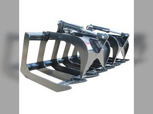 "Stout - Skid Steer Brush Grapple 72"" Width High Strength"