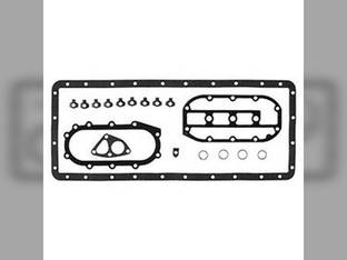 Oil Pan Gasket Set Oliver White 4-180 4-225 2-180 4-270 4-210 4-150 2255 4-175