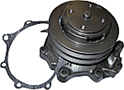 Water Pump With Double Groove Pulley