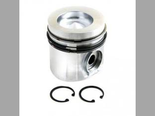 "Piston and Rings - .040"" Oversize Case IH 5120 1800 1644 2022 1822 5220 1640 Case 2096 9020B 9020 9010B White 145 140 6145 6144 Massey Ferguson 8560 Versatile 276 Cummins 4BTA3.9 6BTA5.9"