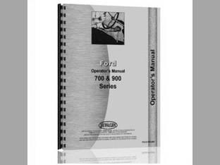 Operator's Manual - FO-O-1700 Ford 1700