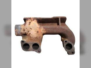 Used Exhaust Manifold Front Section John Deere 6610 9120 8870 4455 9400 6810 9970 9420 8760 9220 9200 7200 4555 9620 8560 8770 9520 8960 8570 4255 4055 6910 8970 4955 9320 9300 7400 9100 7300 4755