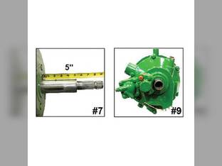 Remanufactured Feeder House Reverser Gear Box Assembly John Deere 9560 9660 9670 9760 9770 9860 HEADER.